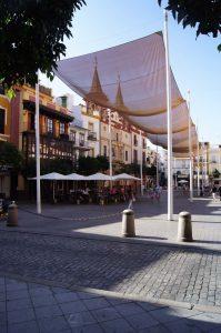 """Abmilderung der """"urban heat island""""-Effekte in Sevilla"""